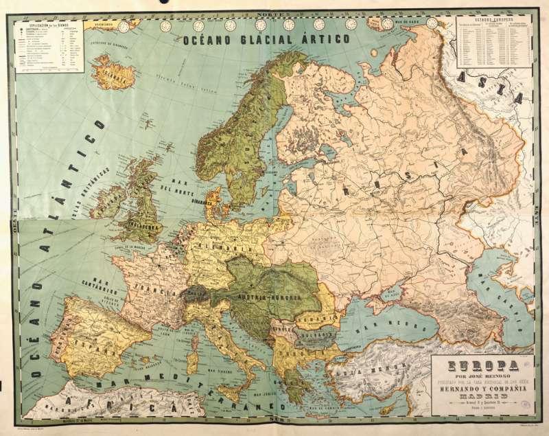 mapa europa featured