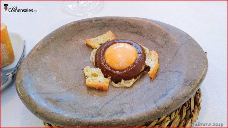 Huevo negro - Baeza y Rufete